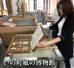Ino-cho Paper Museum (Tosa washi papermaking experience)